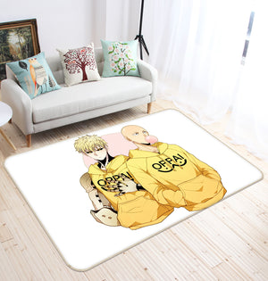 3D One Punch Man 1254 Anime Non Slip Rug Mat