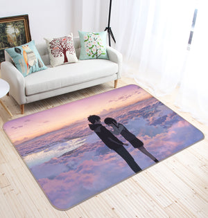 3D Your Name 1376 Anime Non Slip Rug Mat