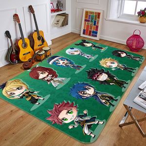 3D Fairy Tail 1651 Anime Non Slip Rug Mat