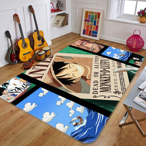 3D One Piece 1673 Anime Non Slip Rug Mat