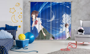 3D Your Name 064 Anime Curtains Drapes