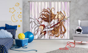 3D Sword Art Online 277 Anime Curtains Drapes