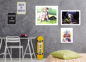 Sword Art Online A833 Anime Combine Wall Sticker
