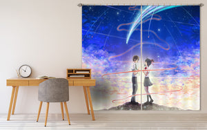 3D Your Name 059 Anime Curtains Drapes