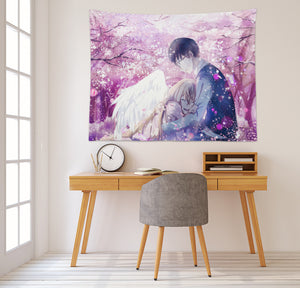3D Your Lie In April 2369 Anime Tapestry Hanging Cloth Hang
