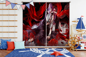 3D Tokyo Ghoul 148 Anime Curtains Drapes