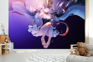 3D Long Hair Girl King 495 Wallpaper