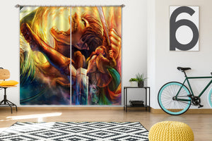 3D Attack On Titan 362 Anime Curtains Drapes
