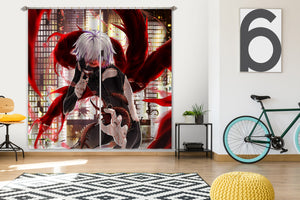 3D Tokyo Ghoul 040 Anime Curtains Drapes