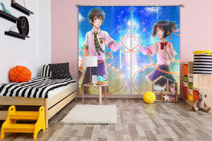 3D Your Name 063 Anime Curtains Drapes