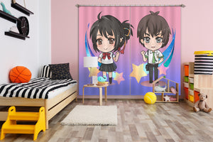 3D Your Name 072 Anime Curtains Drapes