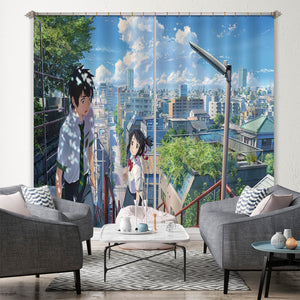 3D Your Name 171 Anime Curtains Drapes