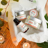 skin care kit - oily skin - 100% all natural  organic-  green clean skincare, bath and body, beauty- BEAUT.E