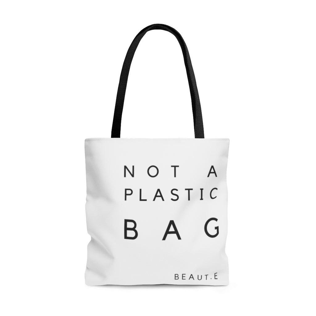 AOP Tote Bag - 100% all natural  organic-  green clean skincare, bath and body, beauty- BEAUT.E