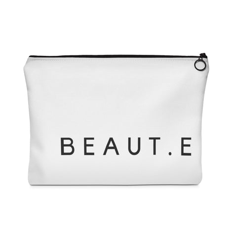 BEAUT.E Travel Pochette (two sizes) - 100% all natural  organic-  green clean skincare, bath and body, beauty- BEAUT.E