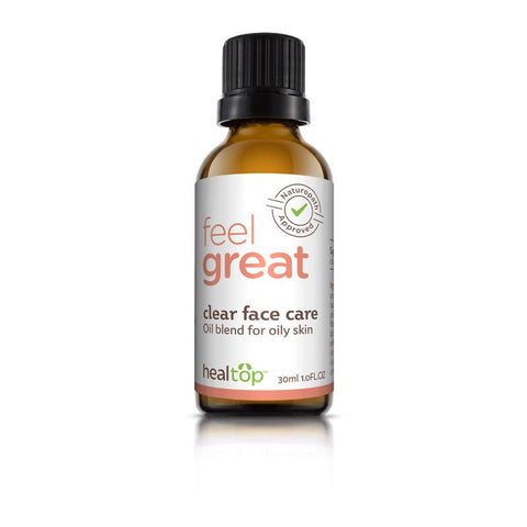 clear face care - all natural serum for oily skin - 100% all natural  organic-  green clean skincare, bath and body, beauty- BEAUT.E