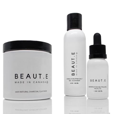 Blemish Neutralizing Skincare Bundle - 100% all natural  organic-  green clean skincare, bath and body, beauty- BEAUT.E