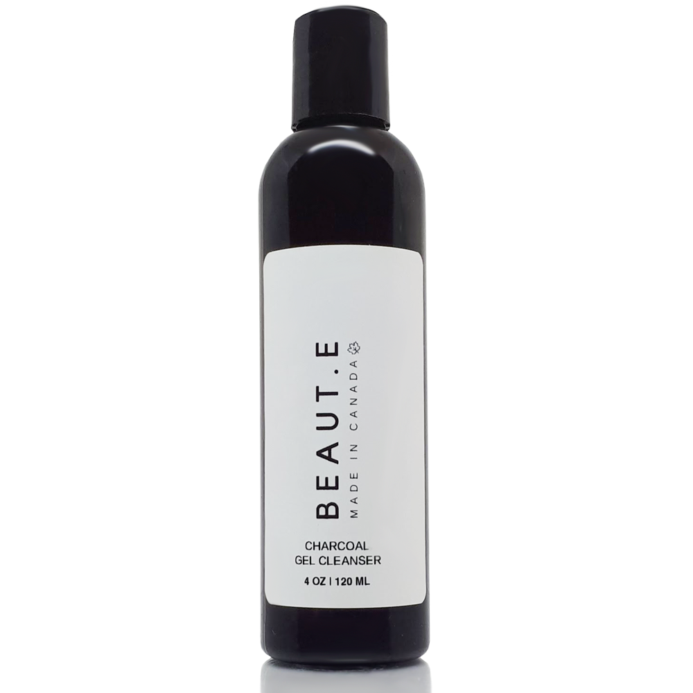 Charcoal Gel Cleanser - 100% all natural  organic-  green clean skincare, bath and body, beauty- BEAUT.E