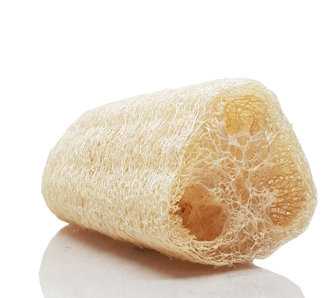 100% Natural Bath Loofah - 100% all natural  organic-  green clean skincare, bath and body, beauty- BEAUT.E