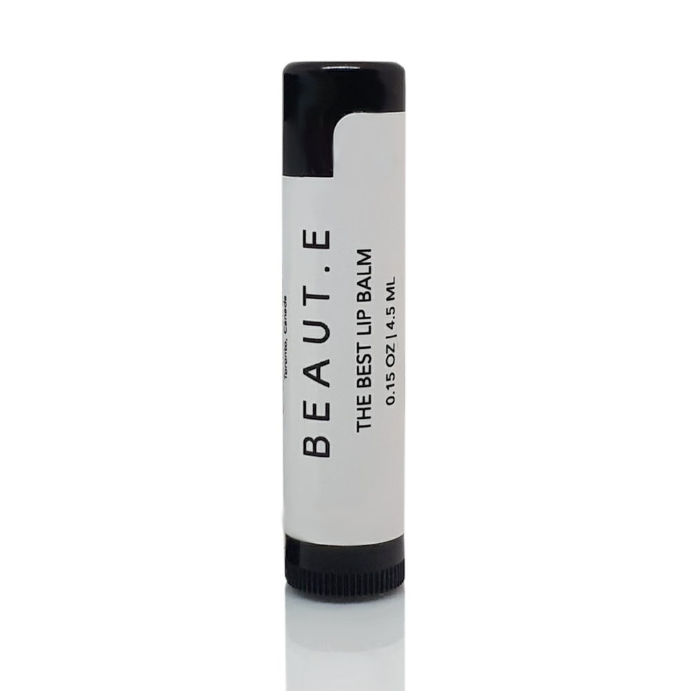 Best Lip Balm  - Tube (100% Cruelty Free Vegan) - 100% all natural  organic-  green clean skincare, bath and body, beauty- BEAUT.E