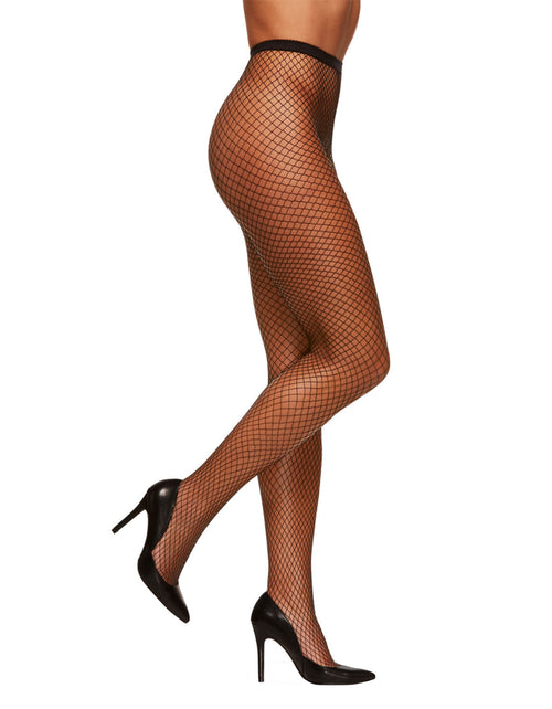 Small Mesh Fishnet Tights