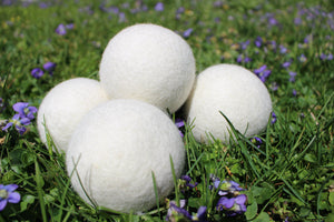Xl Wool Dryer Balls - Non toxic Dryer Sheets - Set of 4 or 6-Sacred Soul Essentials