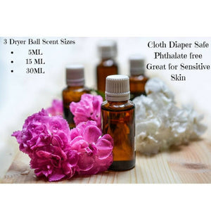 Set of 5 (5ml) Wool Dryer Ball Scents- Gift Set-Sacred Soul Essentials