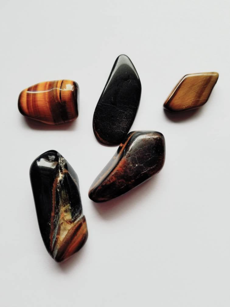 Tigers Eye - Tigers Eye Stone - 1-2.5 Inches - Healing Stone - Worry Stone