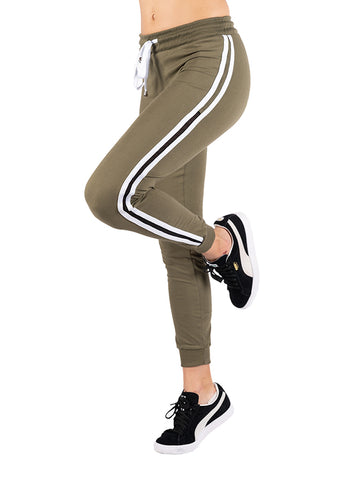Womens Olive Super Soft Jogger