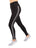 Womens Silver Wire Striping Super Soft High Waist Legging