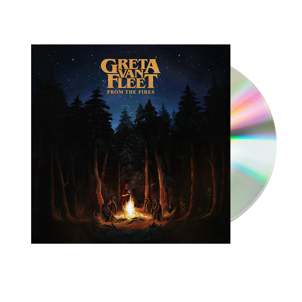 From The Fires Cd Greta Van Fleet Official Store