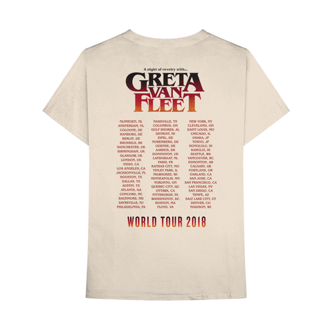 A NIGHT OF REVELRY TOUR TEE