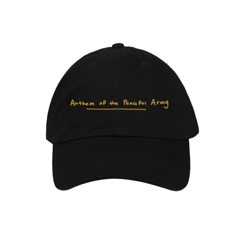 ANTHEM OF THE PEACEFUL ARMY DAD HAT + ALBUM