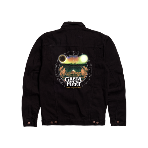 ANTHEM OF THE PEACEFUL ARMY DENIM JACKET