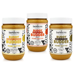 Pumpkin Pup + Ruff Ruff Raw + Barkin' Banana BUDDY BUDDER (SET OF 3)