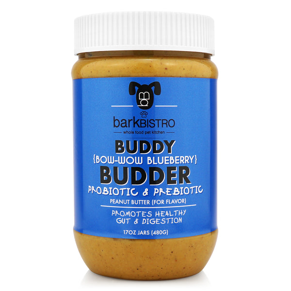 Bow-Wow Blueberry BUDDY BUDDER (prebiotic + probiotic)