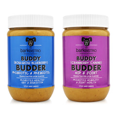 Cranberry Canine + Bow-Wow Blueberry BUDDY BUDDER (SET OF 2)