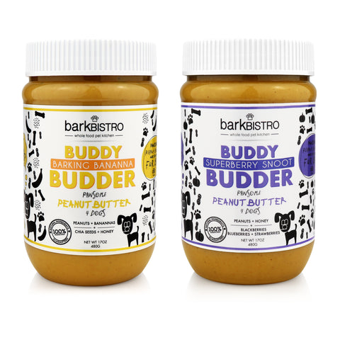 Superberry Snoot + Barkin' Banana BUDDY BUDDER (SET OF 2)