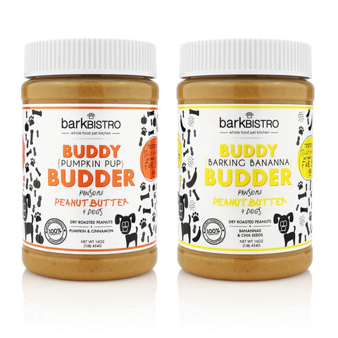 Pumpkin Pup + Barkin' Banana BUDDY BUDDER (SET OF 2)