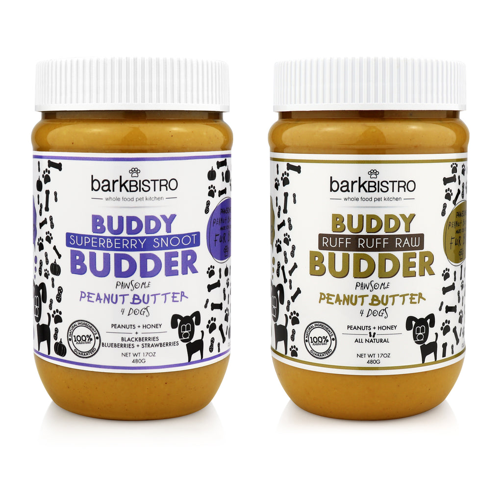 Superberry Snoot + Ruff Ruff Raw BUDDY BUDDER (SET OF 2)
