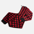 Plaid Onesie - Red