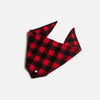 Plaid Bandana - Red