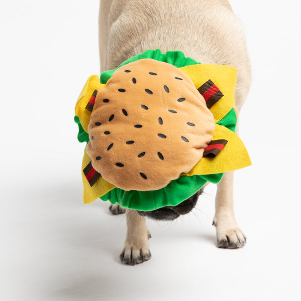 Burger Wig for Dog