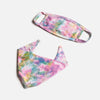 Matching Human & Dog Bandana & Face Mask Bundle - Tie Dye Rainbow