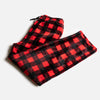 Matching Buffalo Plaid Pants - Red