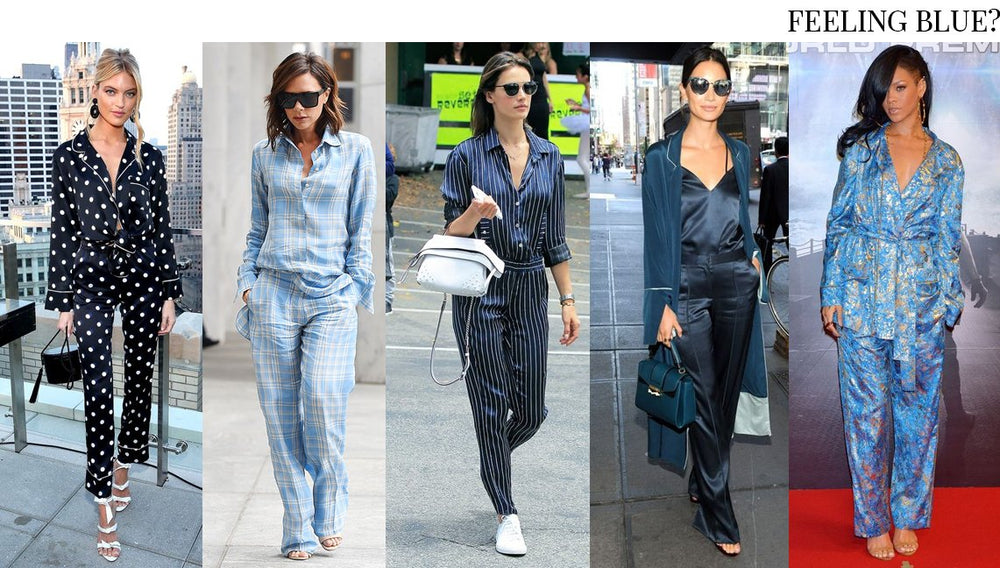 STREET STYLE YOUR LUXURY PYJAMAS