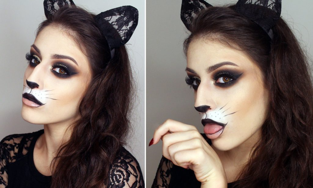 Black Cat Halloween Costume Tutorial