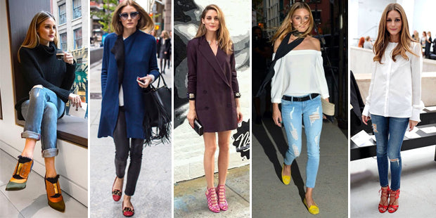 60ec04529a41 Olivia Palermo undoubtedly has the best shoe collection