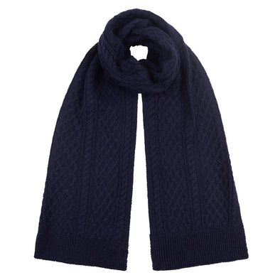 Mens Navy Scarf From Pretty You London