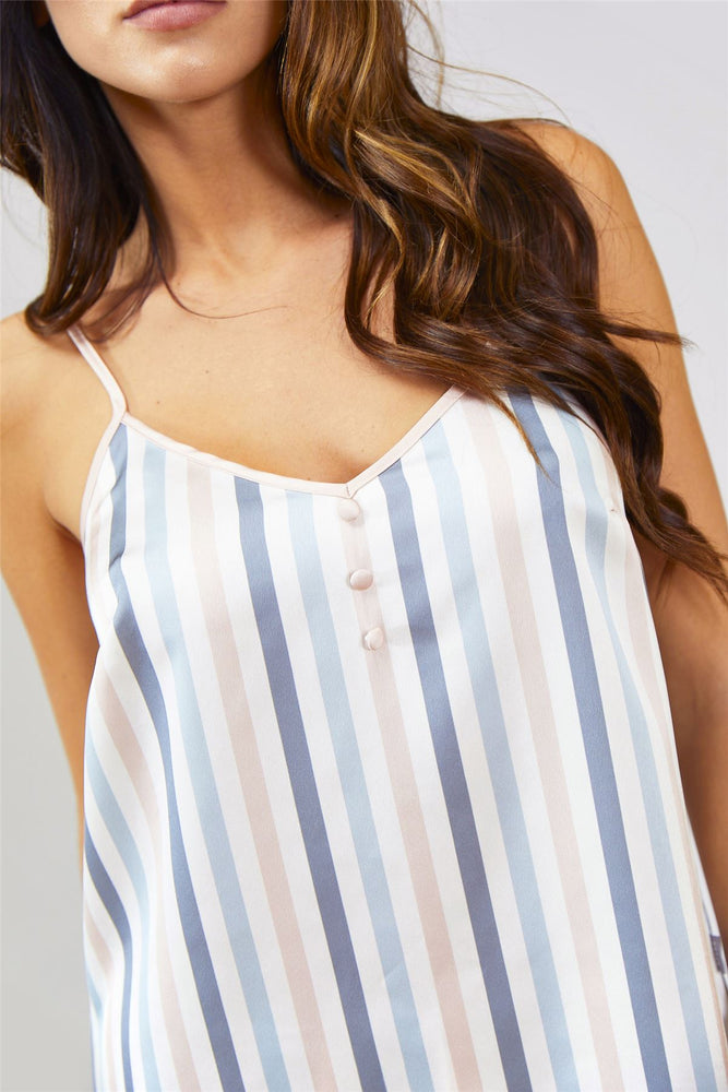 Mix and Match Candy Cami Top in Multi Stripe Colours (Cami only)
